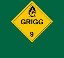 Will Grigg on Fire Unisex T-Shirt