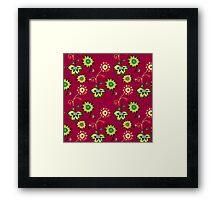 Floral pattern #7 Framed Print