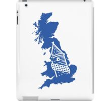Britain is Blue iPad Case/Skin
