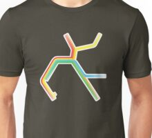 Rainbow BART Map Unisex T-Shirt