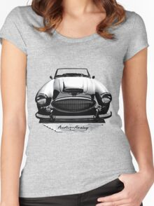Austin Healey MkIV 3000 Women's Fitted Scoop T-Shirt