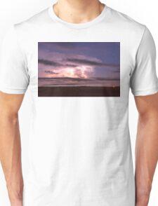 Epic Cloud To Cloud Lightning Storm Unisex T-Shirt