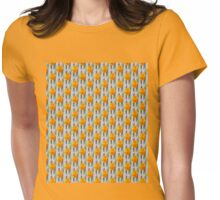 Yellow Tulips Womens Fitted T-Shirt