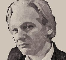 Julian Assange for Prime Minister of Australia by Albert