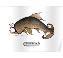 Brown Trout, tony fernandes Poster