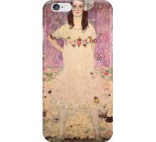 Gustav Klimt  - Portrait of Mada Primavesi iPhone Case/Skin