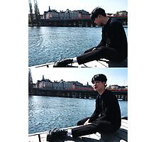 BTS Park Jimin Photographic Print