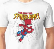 Spiderbart: Bart Simpson as Spider-man Unisex T-Shirt