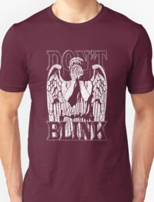 Weeping Angel Dr. Who Quote T-Shirt