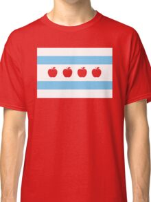 Chicago Teacher Flag - original RED Classic T-Shirt