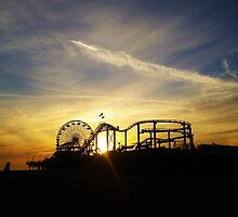 Santa Monica Pier by Scott Mason