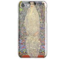 Gustav Klimt  - Portrait of Baroness Elisabeth Bachofen iPhone Case/Skin