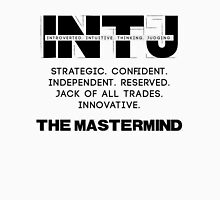 INTJ - Mastermind - Dark Text Unisex T-Shirt