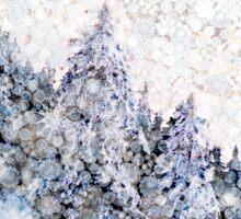 Mountain Snow Drift Sticker