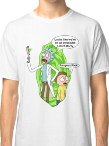 Rick and Morty awesome Classic T-Shirt