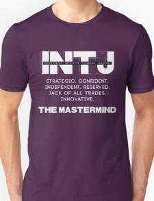 INTJ - Mastermind - Light Text Unisex T-Shirt