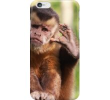 What Did You Say? iPhone Case/Skin