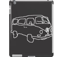 Sketchy Camper iPad Case/Skin