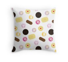 Biscuits Galore Throw Pillow