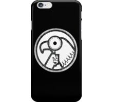 Gravity Falls- goverment agent logo iPhone Case/Skin