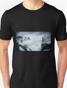 The wolf and the moon T-Shirt