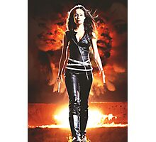 Summer Glau - BADASS WOMEN Photographic Print