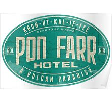 Pon Farr Hotel Poster