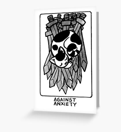 Sigil Against Anxiety Greeting Card