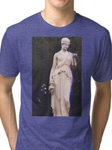 Glitched Statue Tri-blend T-Shirt