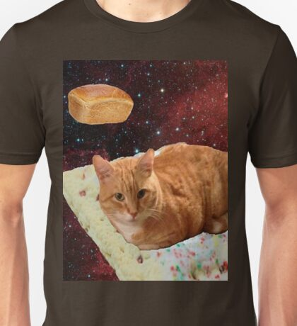 poptart bread cat Unisex T-Shirt