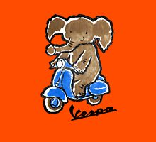 Vespa Riding Elephant Classic T-Shirt