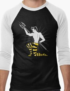 Live Boldly (Me Before You, Finnick) Men's Baseball ¾ T-Shirt