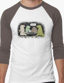 Monsters love RPGs Men's Baseball ¾ T-Shirt