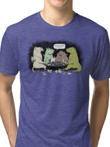 Monsters love RPGs Tri-blend T-Shirt