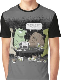 Monsters love RPGs Graphic T-Shirt
