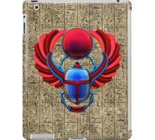 Colorful Egyptian Scarab iPad Case/Skin
