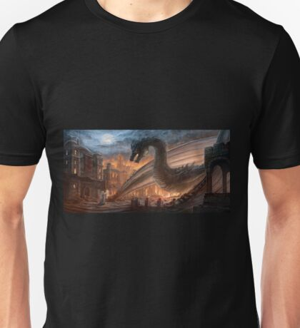 Dragon fight - Elegy of Fire Unisex T-Shirt