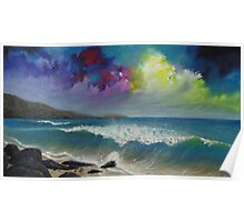 Moody Sky Seascape Poster