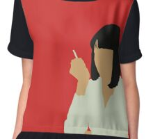 Uma Thurman- Pulp Fiction Chiffon Top