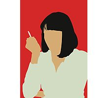 Uma Thurman- Pulp Fiction Photographic Print