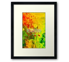 """However difficult... """"Stephen Hawking"""" Inspirational Quote Framed Print"""