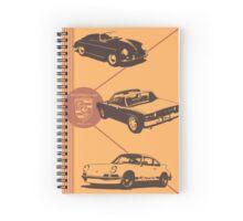 Porsche-folio Spiral Notebook
