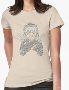 Slotherine Womens Fitted T-Shirt