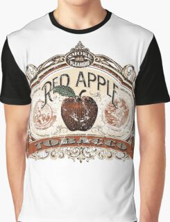 Red Apple Tobacco Graphic T-Shirt
