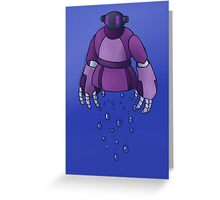 A Friend at the Bottom of the Sea Greeting Card