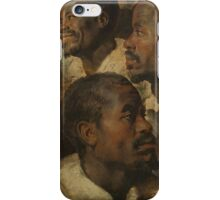 Peter Paul Rubens - Four Studies of a Head of a Moor  iPhone Case/Skin