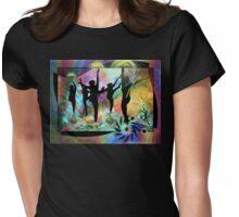 Dancing in Shrangri-La Womens Fitted T-Shirt