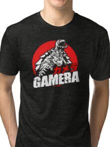 Gamera The Brave Flying Turtle Japanese Monster Kaiju  Tri-blend T-Shirt