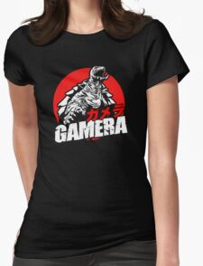 Gamera The Brave Flying Turtle Japanese Monster Kaiju  Womens Fitted T-Shirt