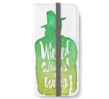 Zelena (watercolor);  iPhone Wallet/Case/Skin